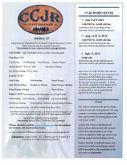 Cow Country Junior Rodeo Flyer