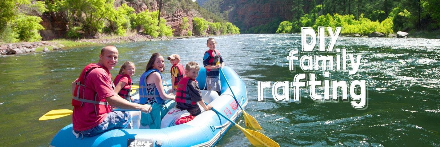Do It Yourself Family Rafting Trips