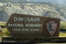 Dinosaur National Monument Entrance