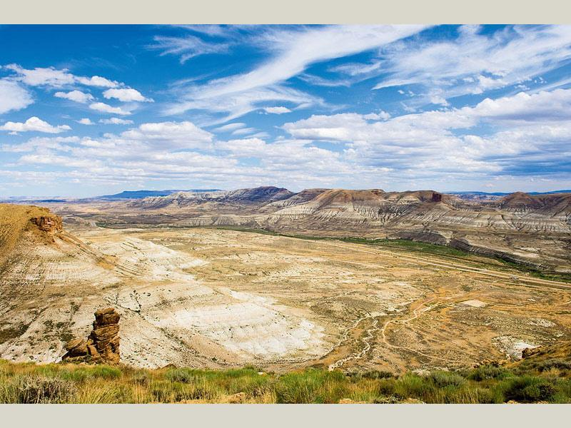 Flaming Gorge Green River Basin Scenic Byway Wy