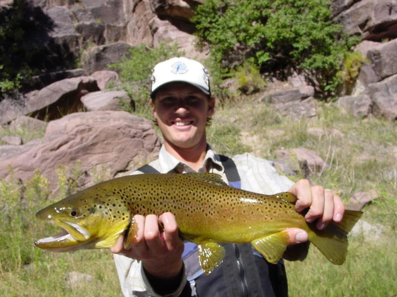Spinner fall guide service for Flaming gorge fishing guides