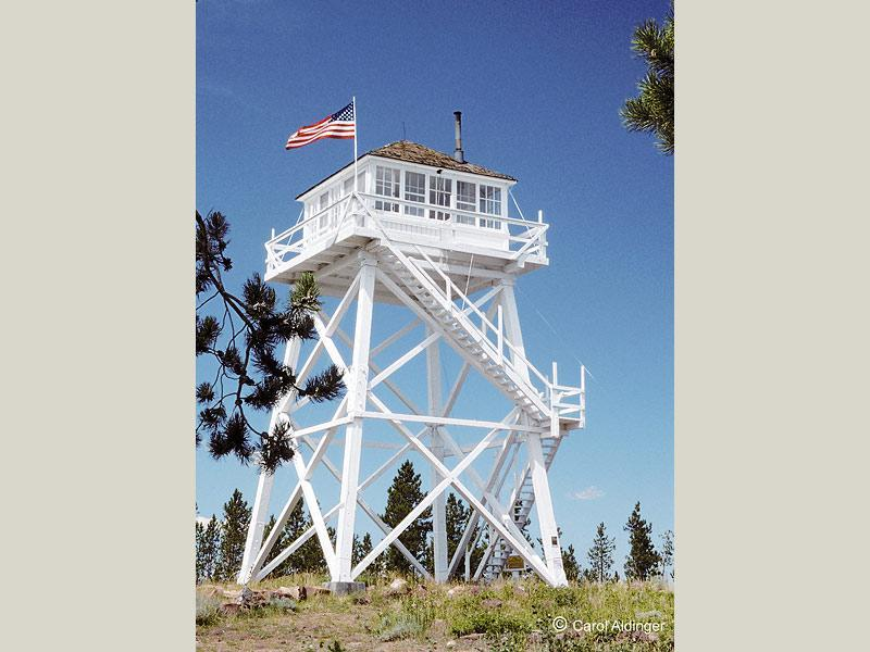 Ute mountain fire lookout tower for Fire tower plans
