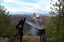 Canyon Rim Mountain Biking
