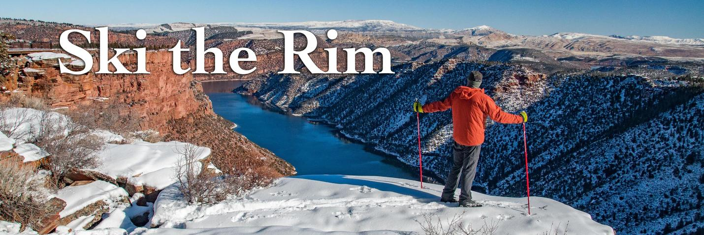 Skiing the Canyon Rim