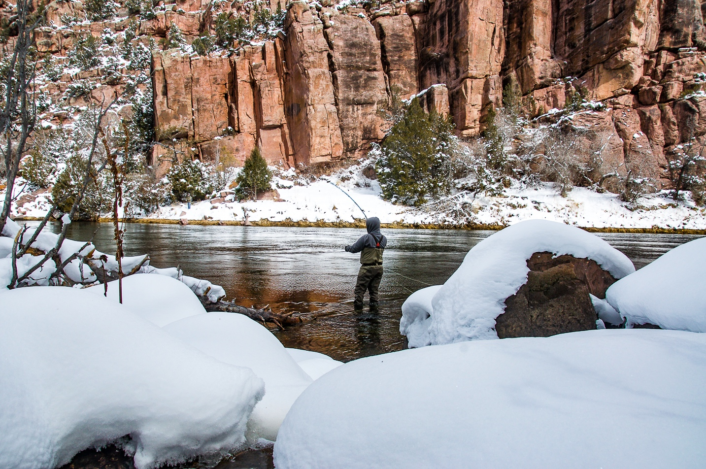 Fly Fishing Utah's Green River in the Winter