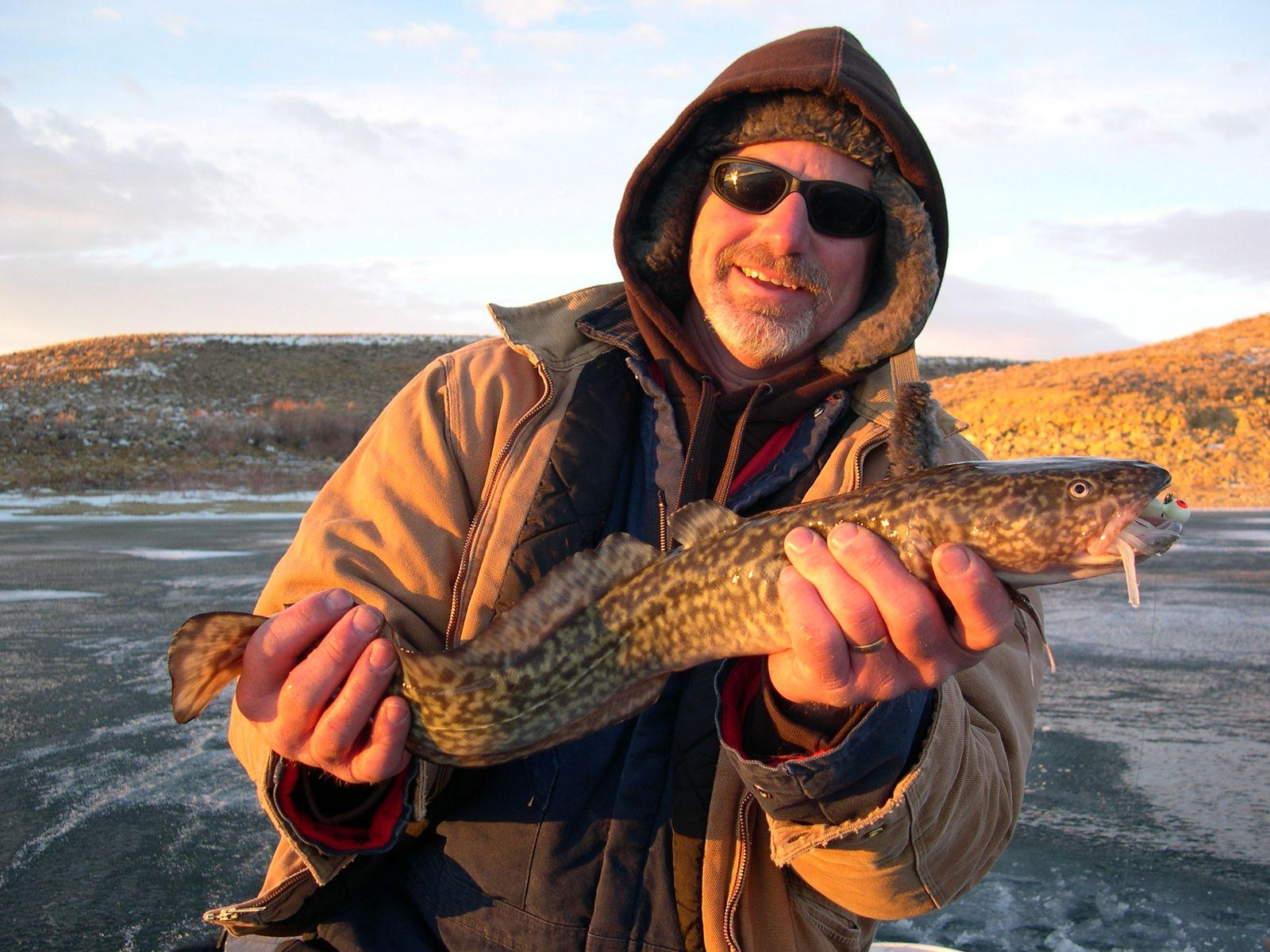 Winter in flaming gorge for Flaming gorge fishing guides