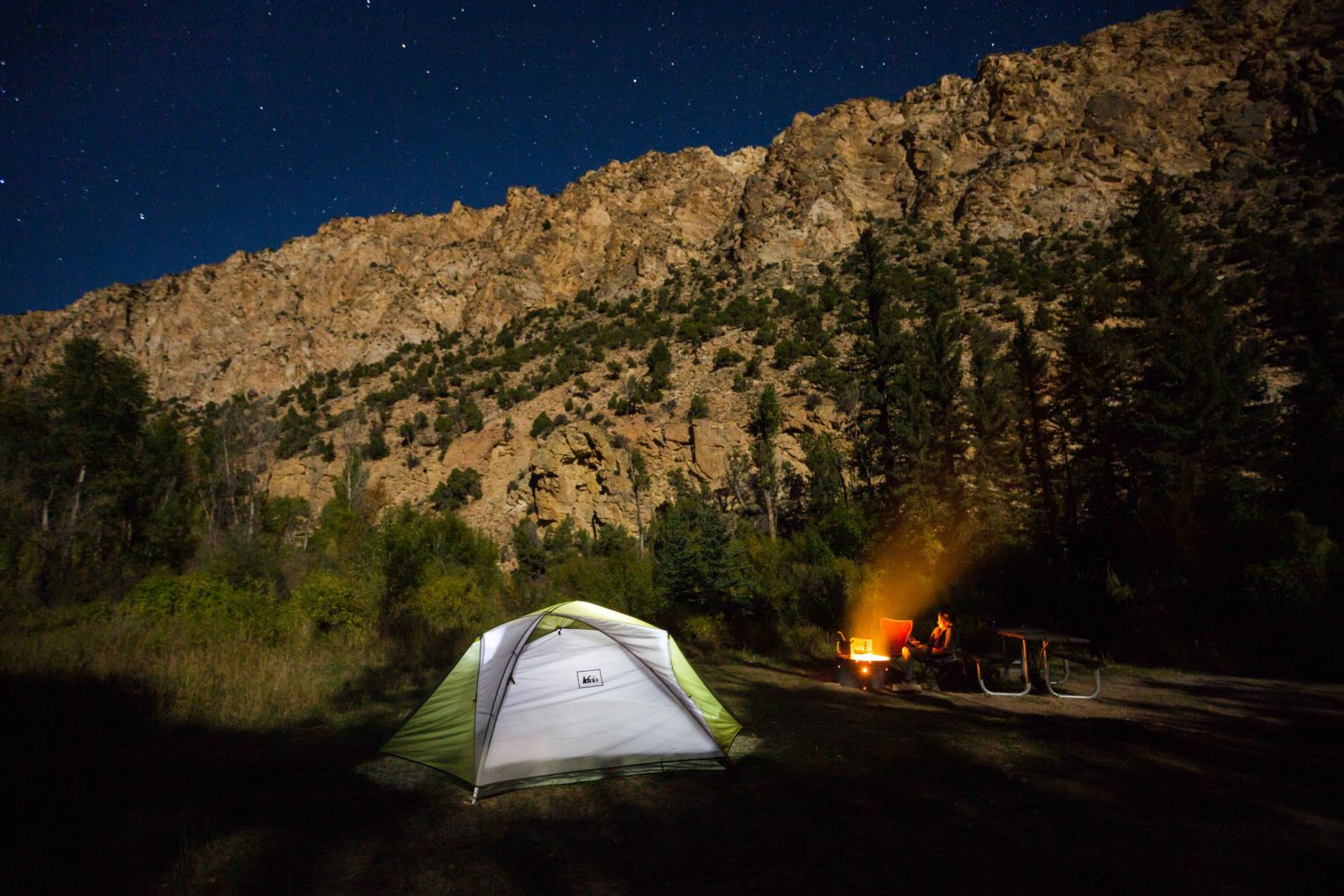 flaming gorge camping