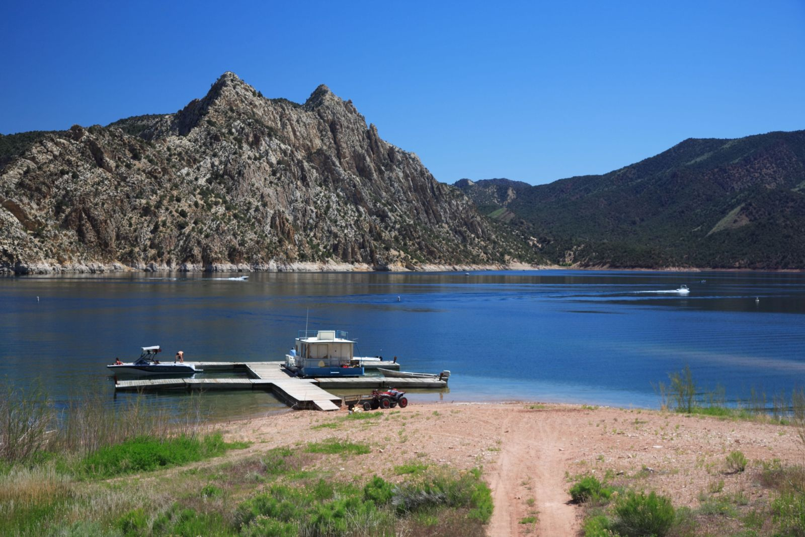 Hideout Campground Flaming Gorge