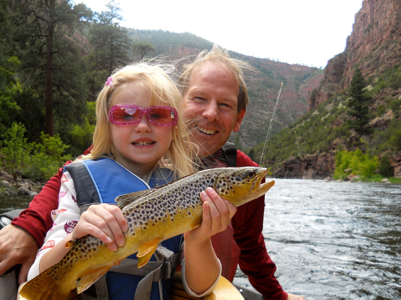 Below the Flaming Gorge Dam, the Green River is one of the finest fly-fishing destinations in the country.