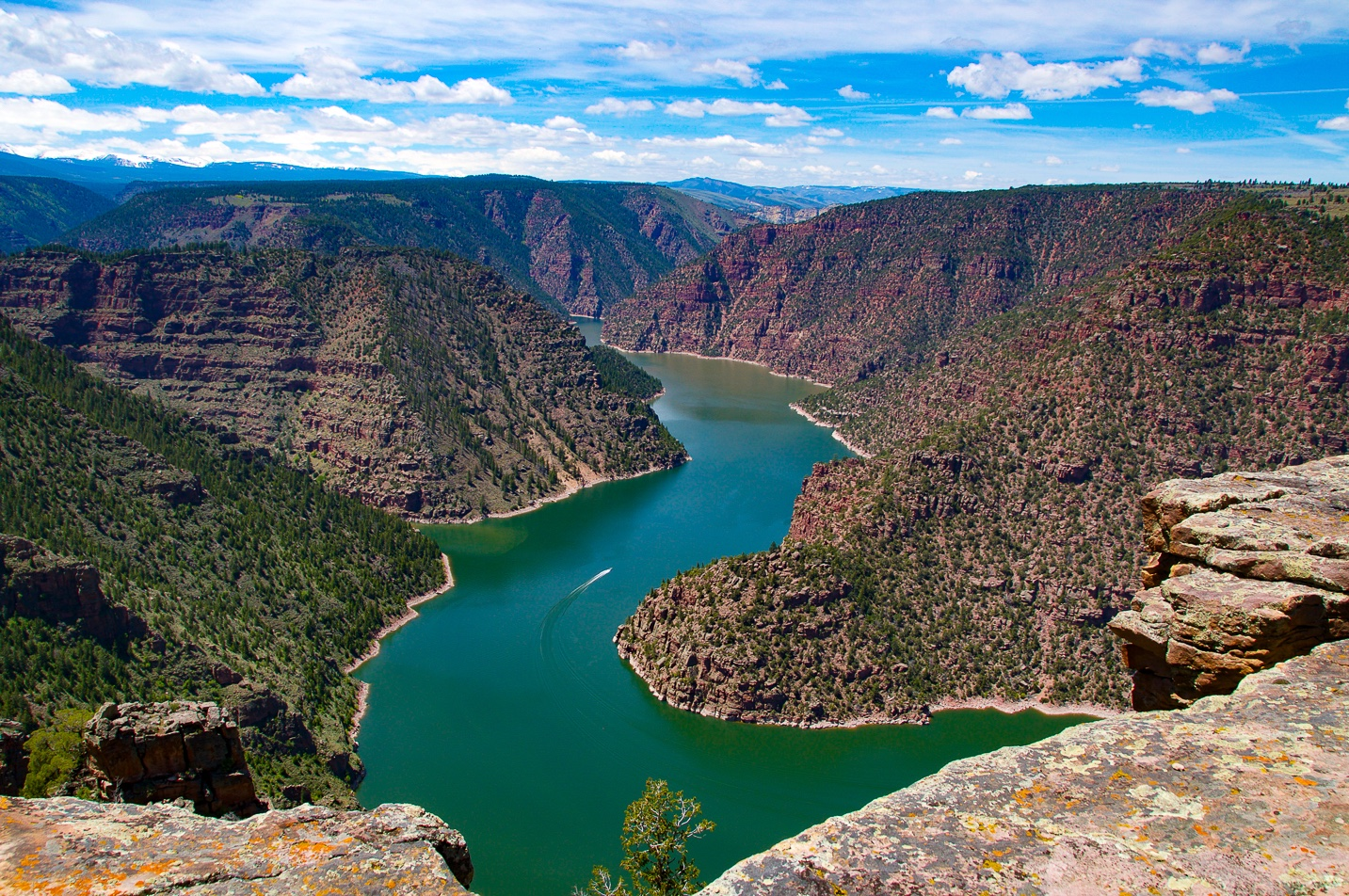 Red Canyon Overlook - Flaming Gorge