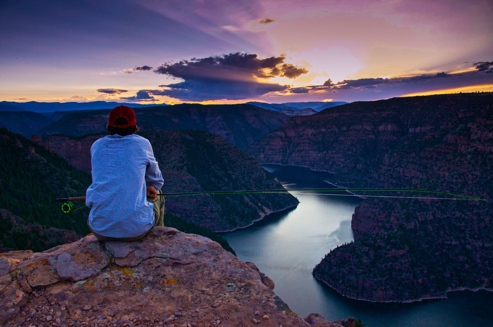 You don't have to be an experienced angler to catch a trophy fish at Flaming Gorge.