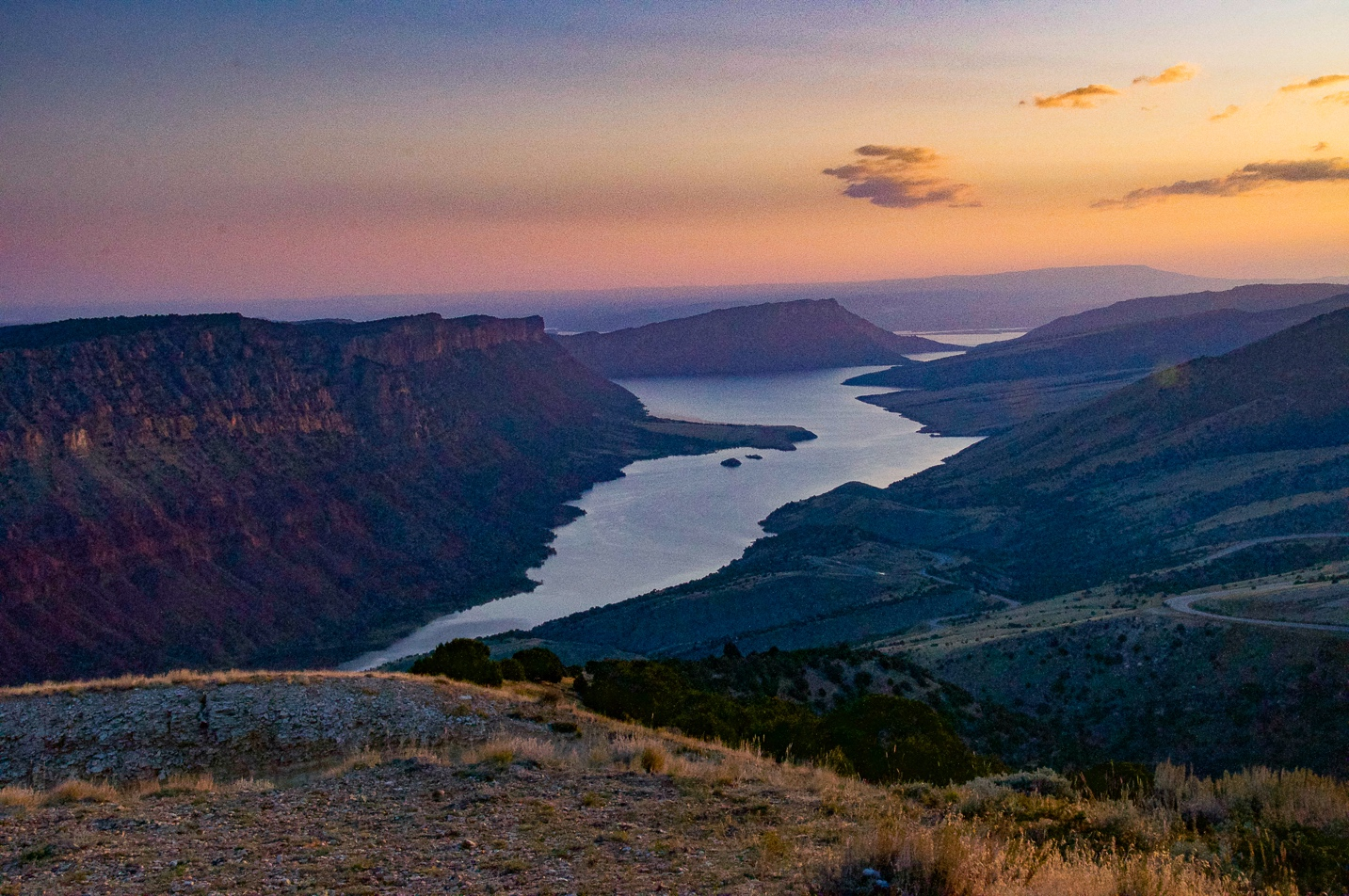 Sheep Creek Bay overlook - Flaming Gorge
